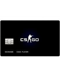 CS GO Card Black